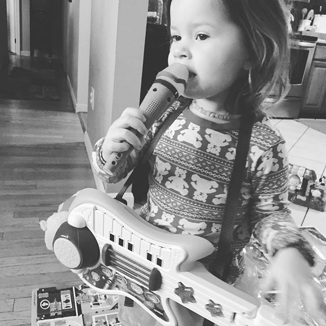Jamming with a legend this morning